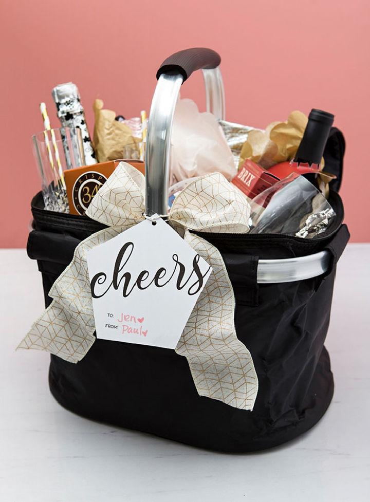 Romantic Picnic Basket Gift