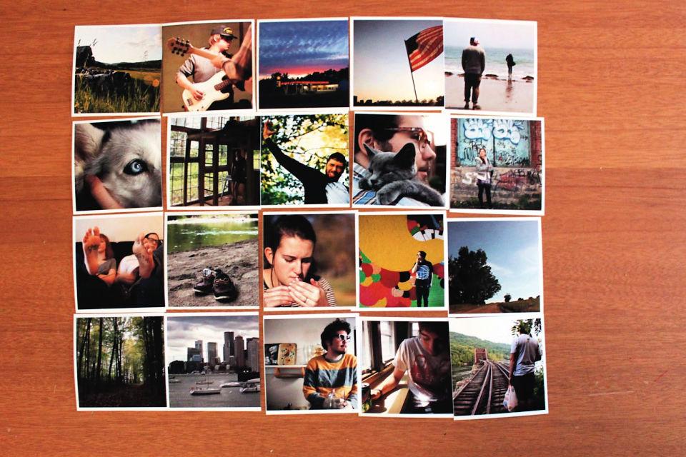 Sewn Photo Collage
