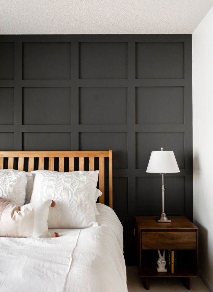 Shaker Panel Accent Wall