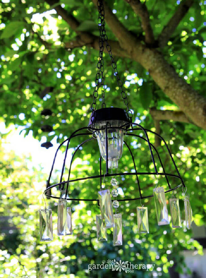 Solar Fairly Lights with Chandelier