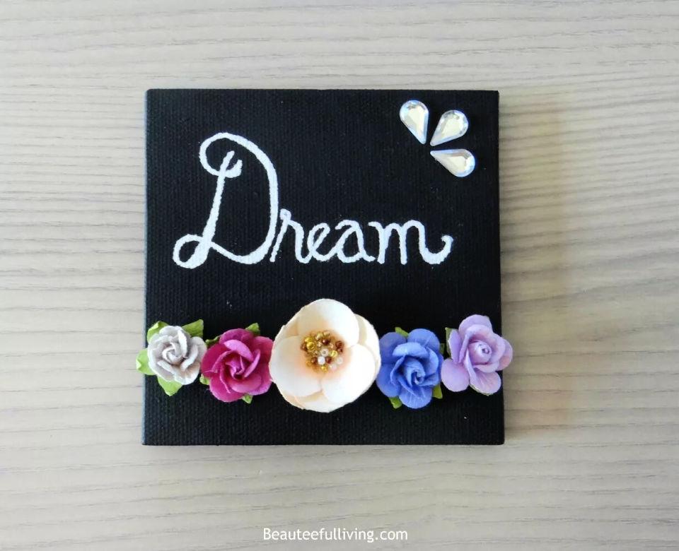 Spring Floral Mini Canvas Art