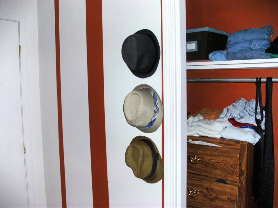 Stylish Floating Wall Hat Rack