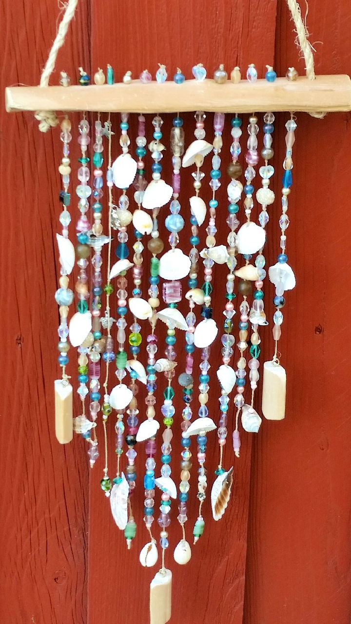 Summer Bead Shell Wind Chime