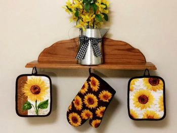 Sunflower Decoration For Kitchen