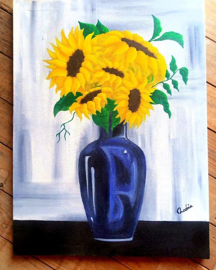 Sunflower Kitchen Wall Art