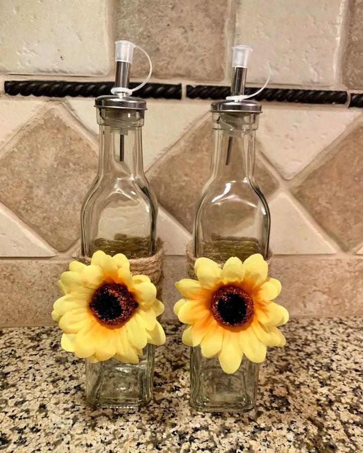 Sunflower Oil Vinegar Dispenser