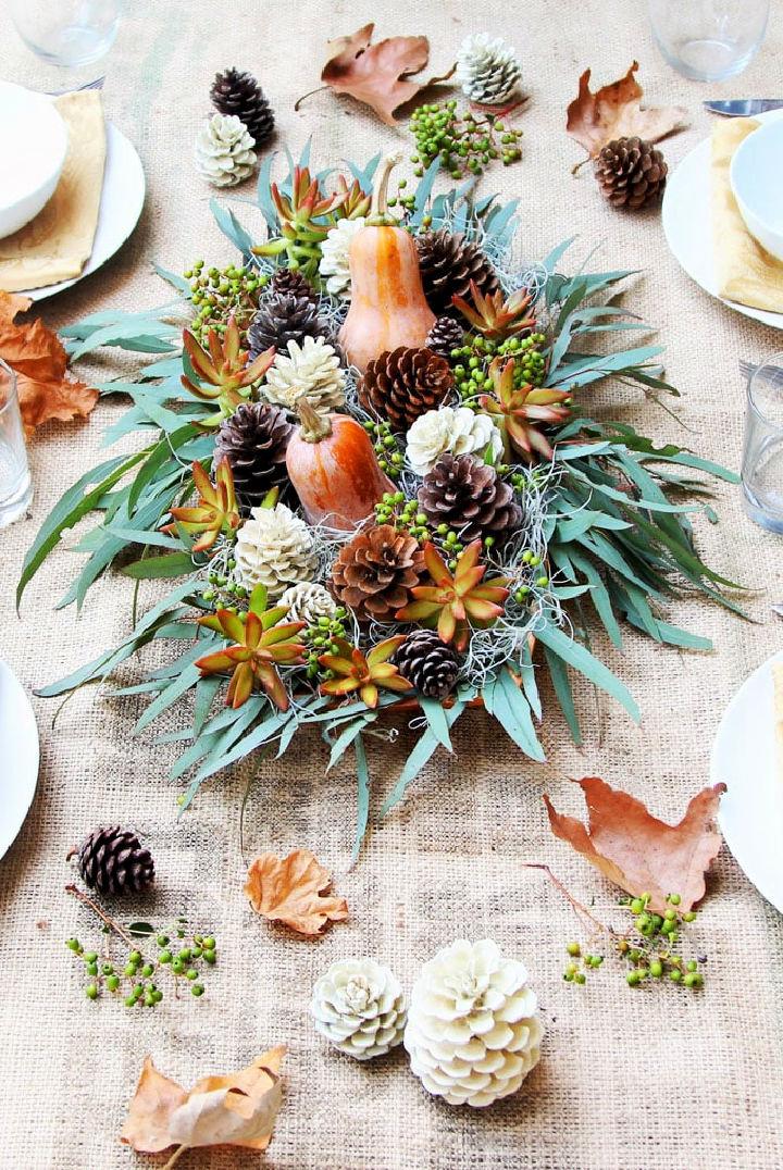 Thanksgiving Table Decoration Centerpiece