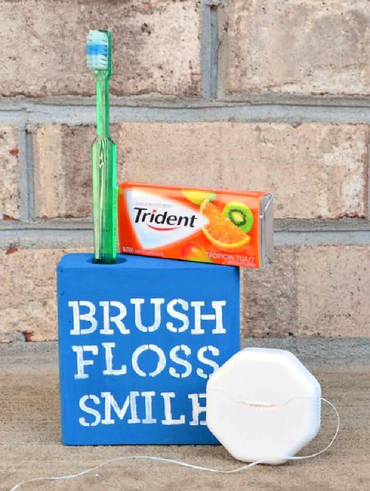 Toothbrush Holder DIY