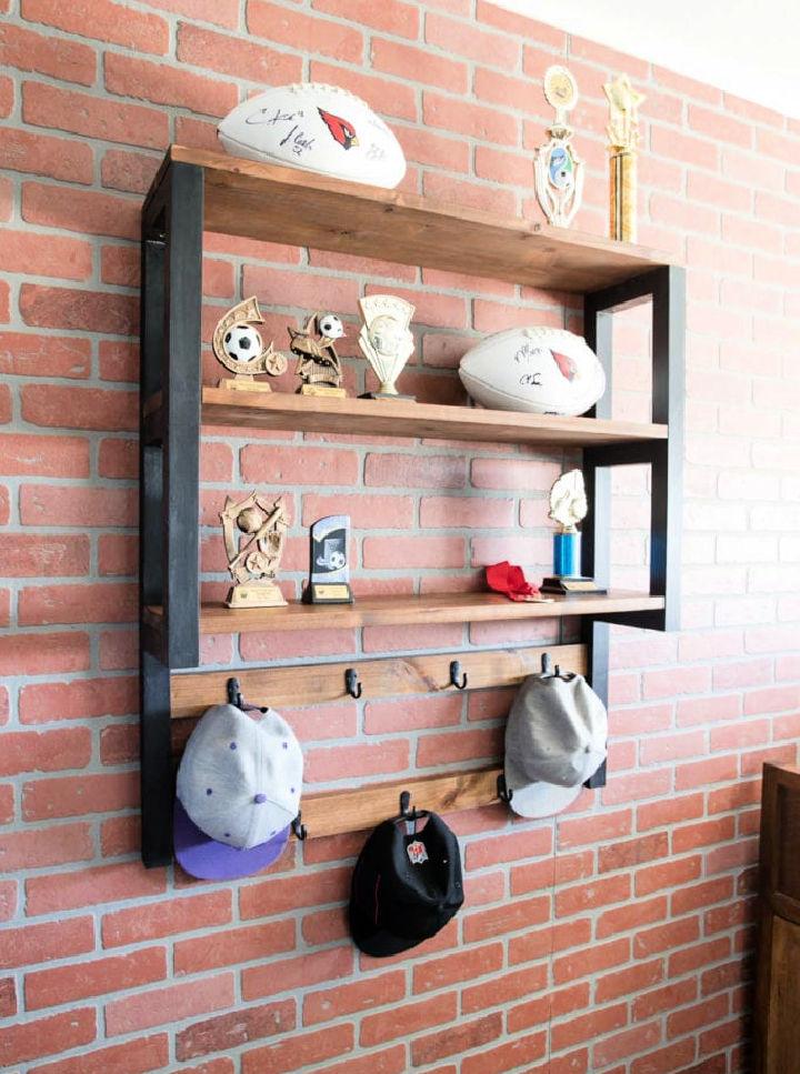 Trophy Shelf and Hat Rack