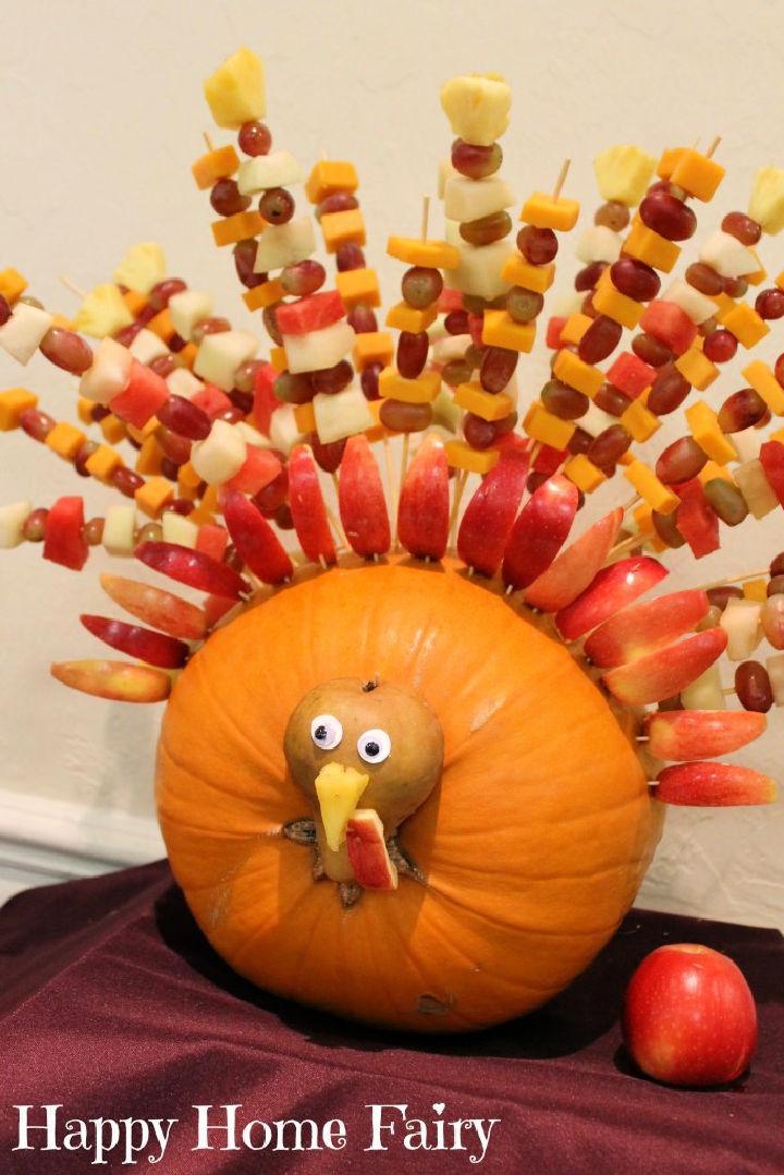 Turkey Thanksgiving Centerpiece