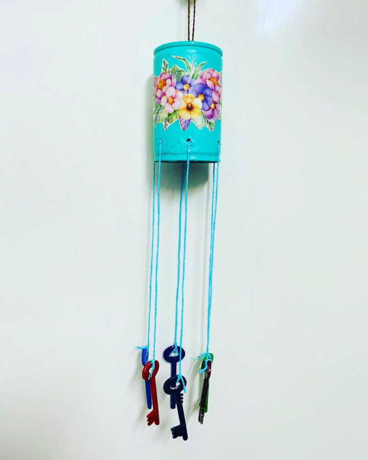Wind Chimes With Old Keys