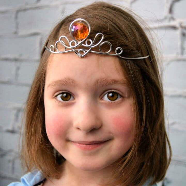 Wire Wrapped Princess Crown