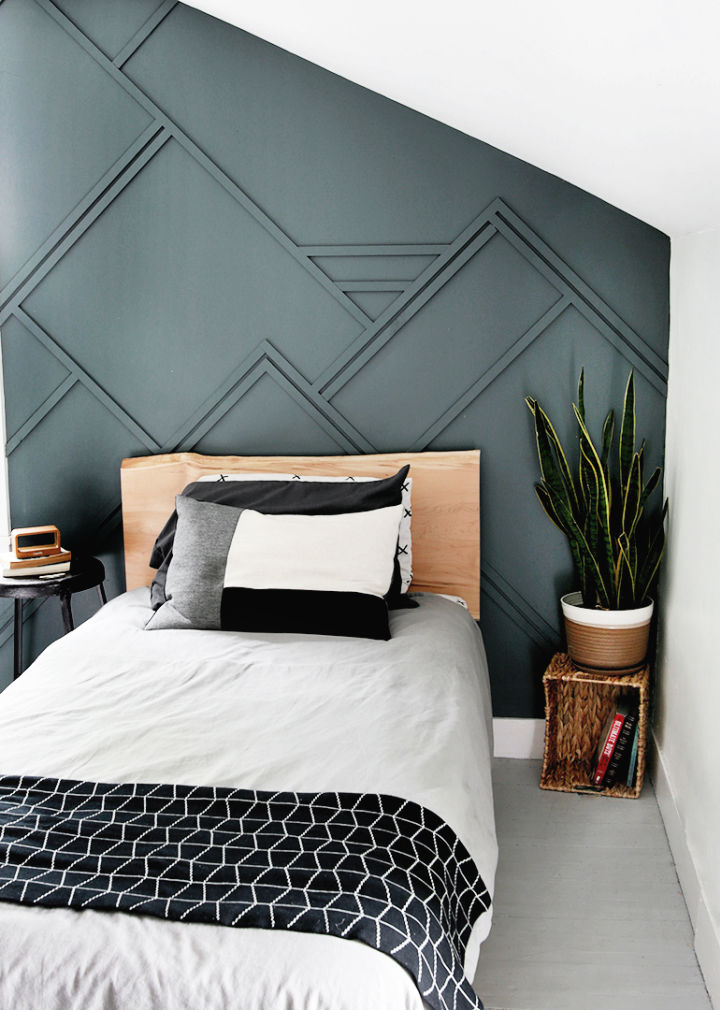 Wood Trim Accent Wall