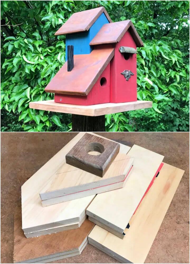 Yard Art Birdhouse