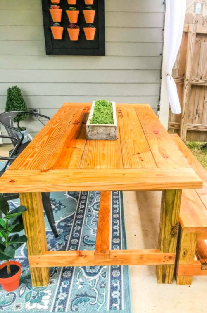 150 DIY Outdoor Table