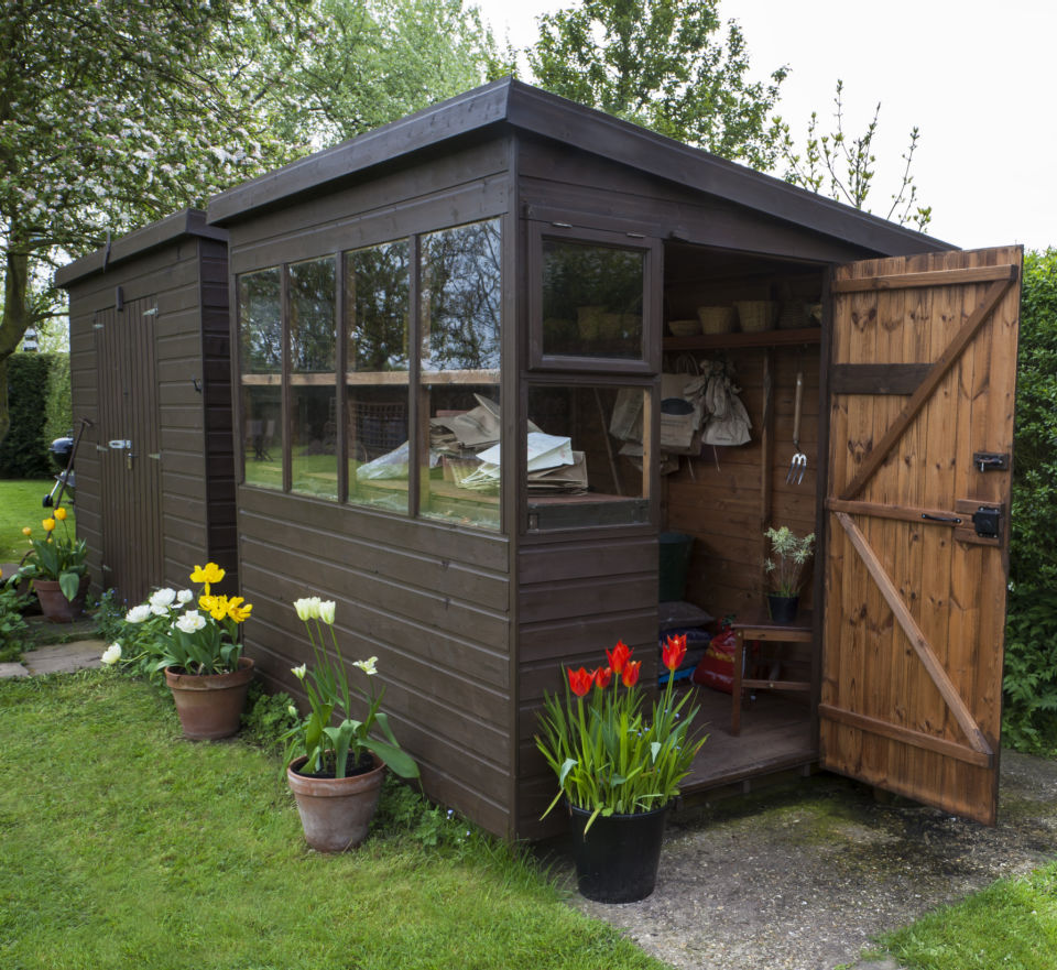 5 Reasons To Build A Potting Shed