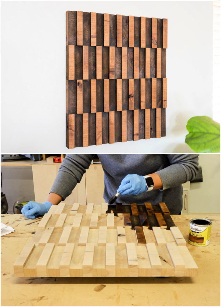Abstract Wooden Wall Art