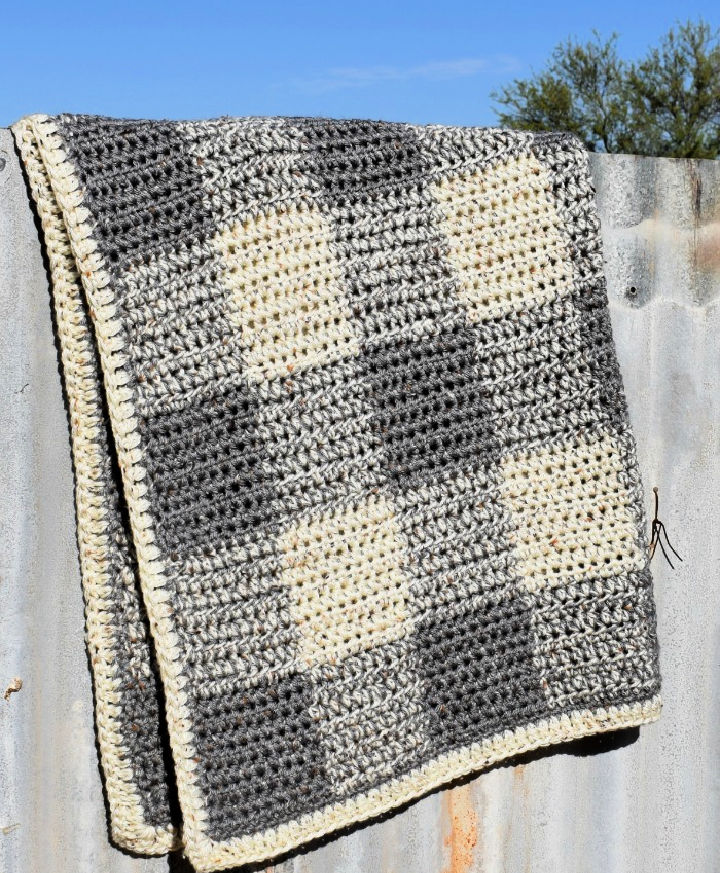 Baby Boy Blanket Crochet Pattern