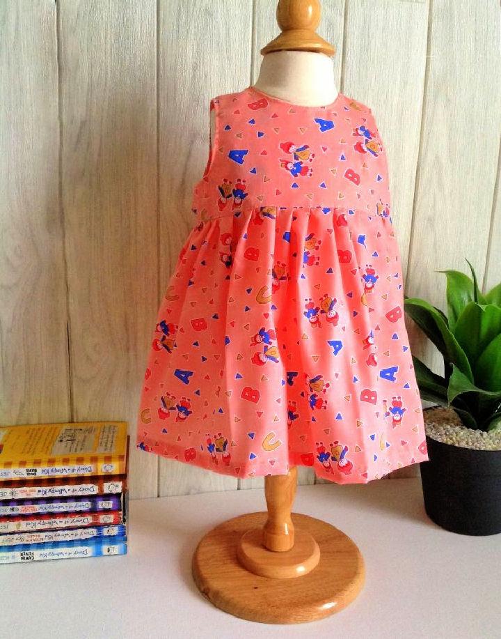 Baby Girl Dress Pattern for Beginners