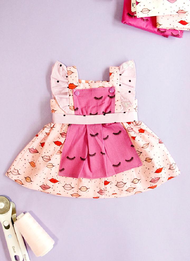 Baby Girl Dress Pattern with Cricut