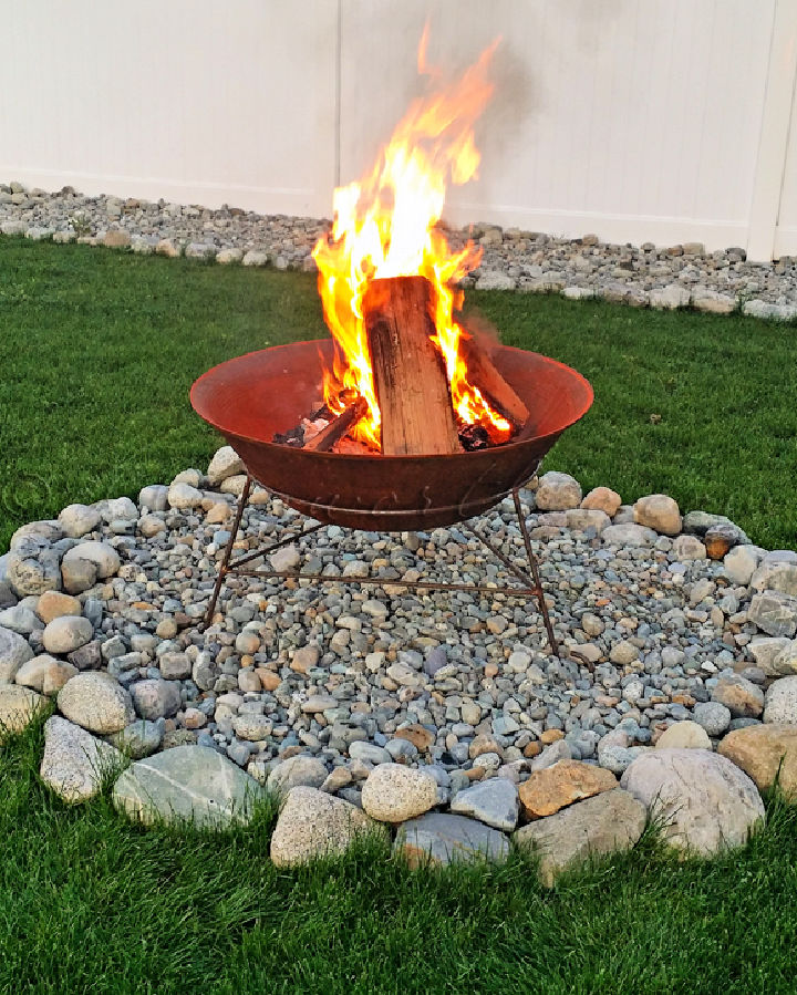 Backyard Fire Pit in 30 Minutes