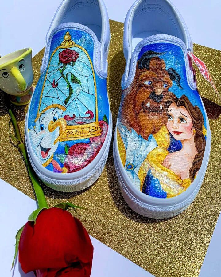 Beauty And The Beast Belle Shoes