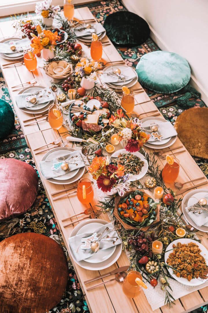 Boho Pallet Picnic Table
