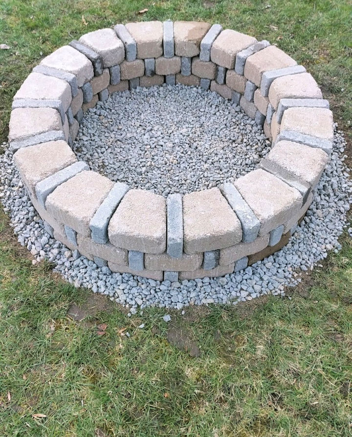 Brick Fire Pit for Under 80