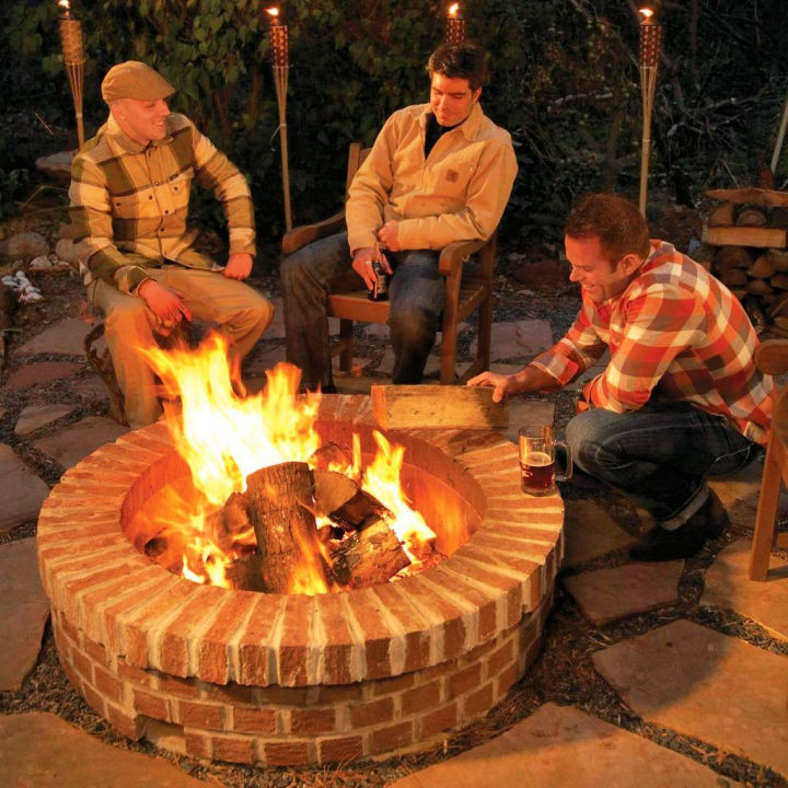 Buiding a Fire Pit