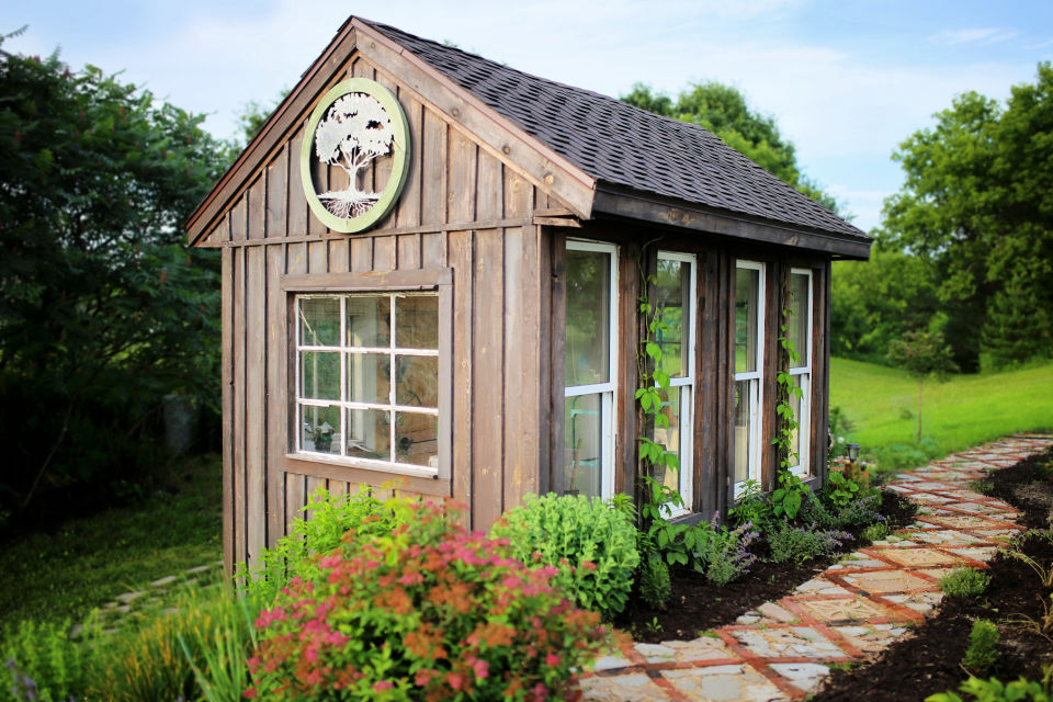 Build A Potting Shed