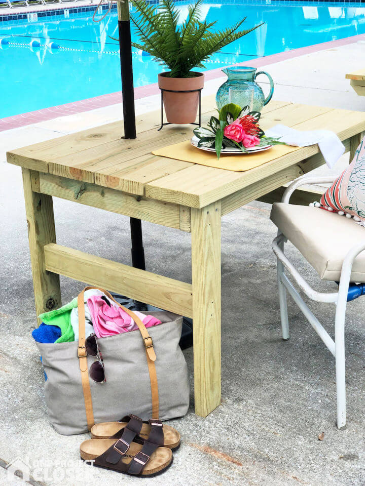 Build an Outdoor Table