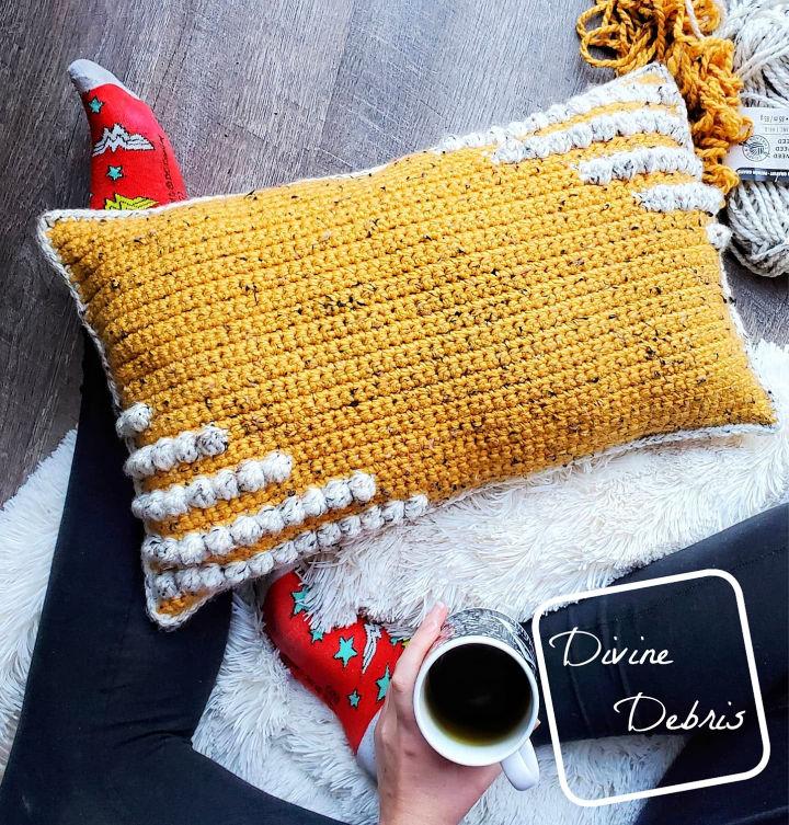 Charismatic Pillow Crochet Pattern