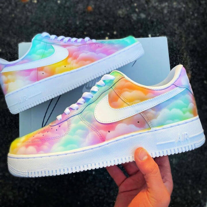 Cloudy Colors Sneakers