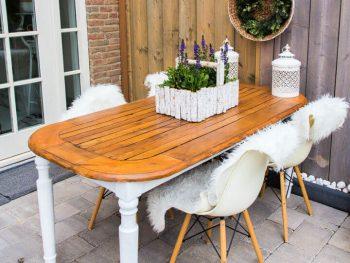 Create an Outdoor Table