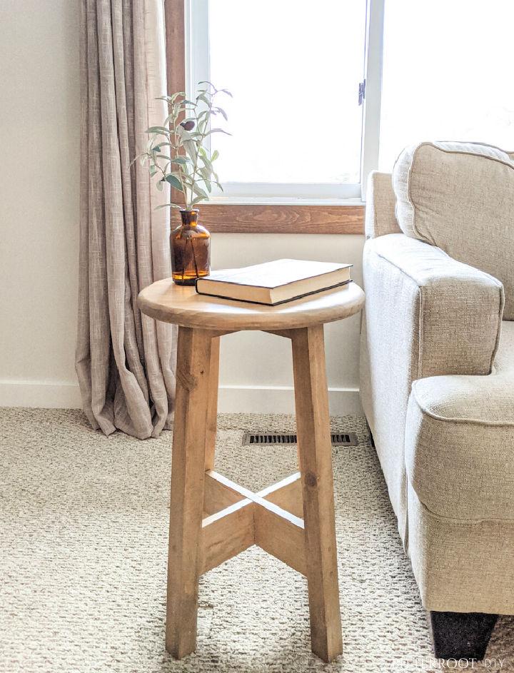 Criss Cross DIY End Table