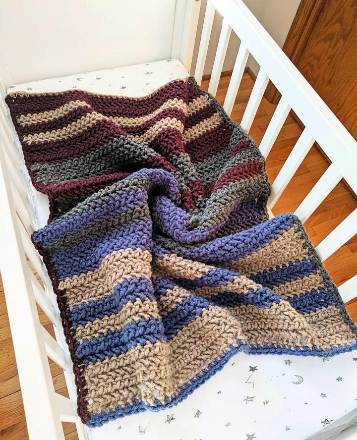 Crochet Arrow Baby Blanket