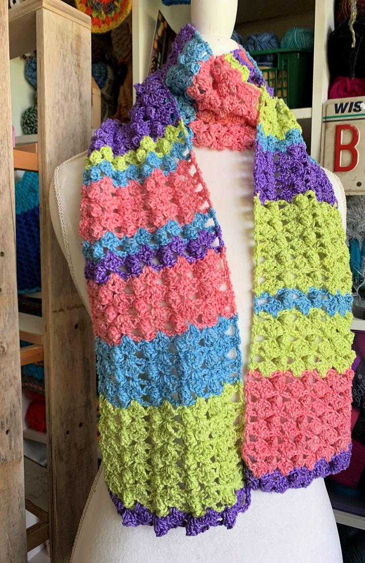 Crochet Four Seasons Scarf