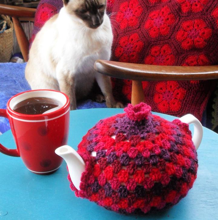 Crochet Granny Tea Cozy