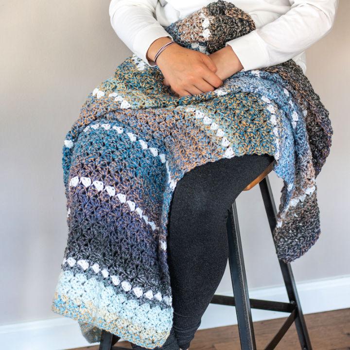 Crochet Lap Blanket Pattern