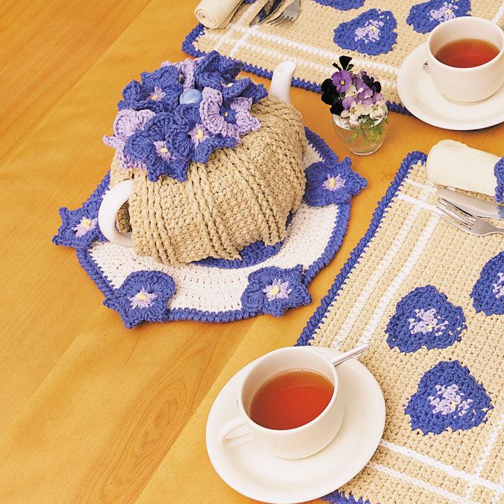 Crochet Lily Sugarn Cream Tea Cozy