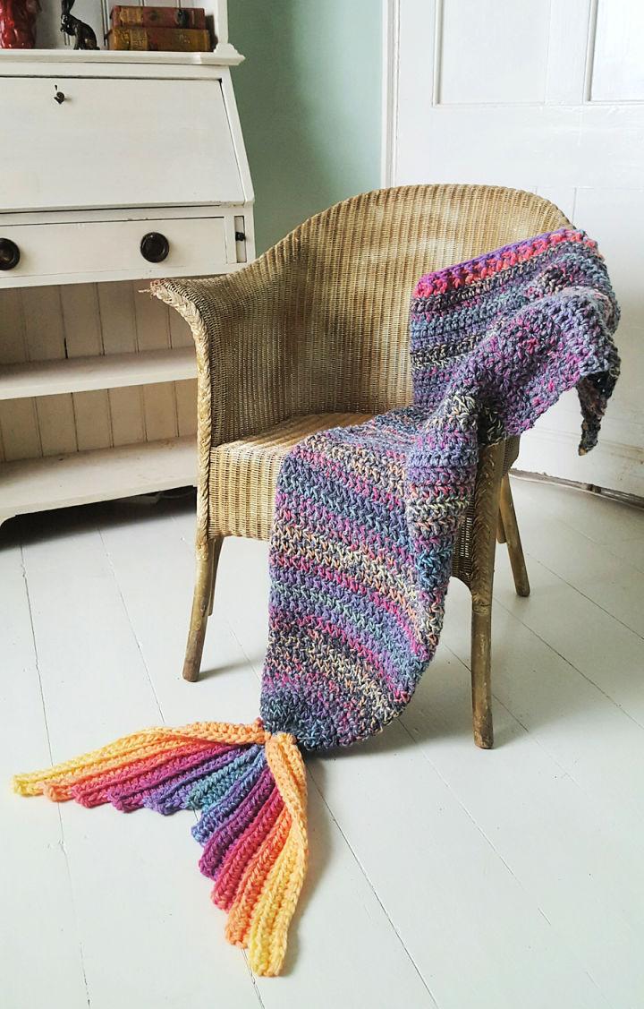 Crochet Mermaid Tail Free Pattern