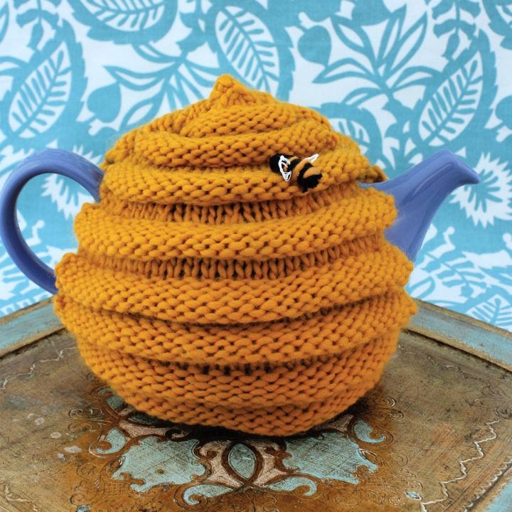 Crochet Patons Beehive Tea Cozy