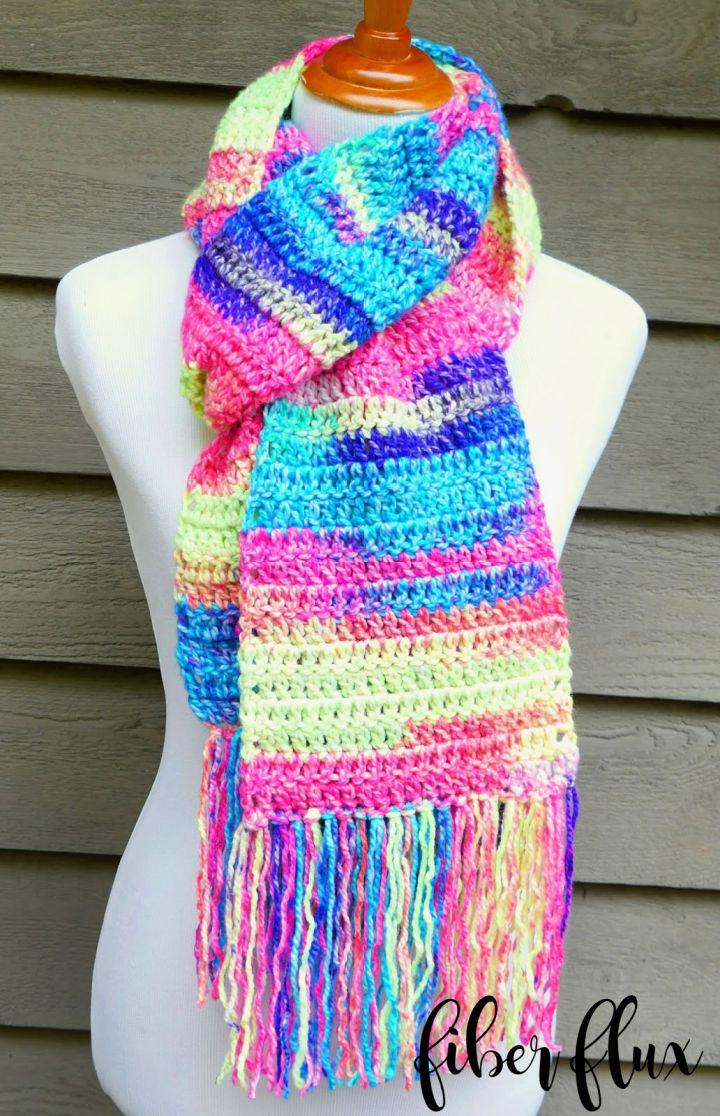 Crochet Scarf Pattern for Beginners