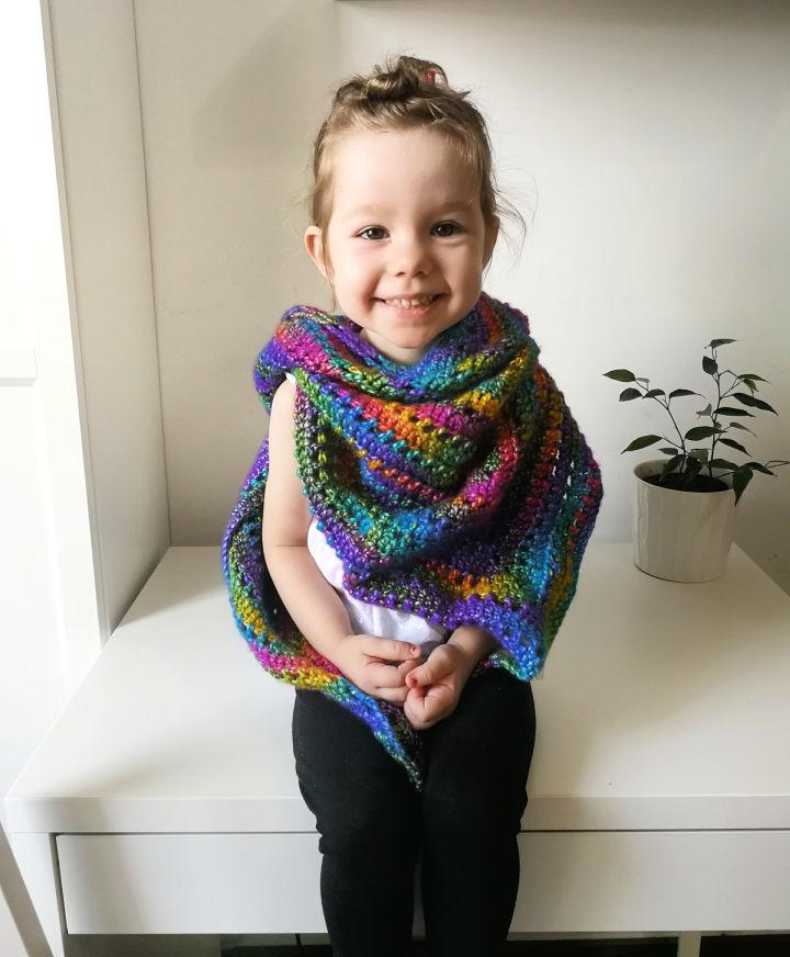 Crochet Scarf Pattern for Kids