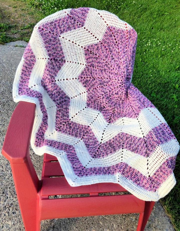 Crochet Star Blanket Free Pattern