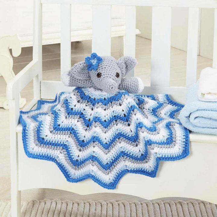 Crochet Stella Lovey Blanket