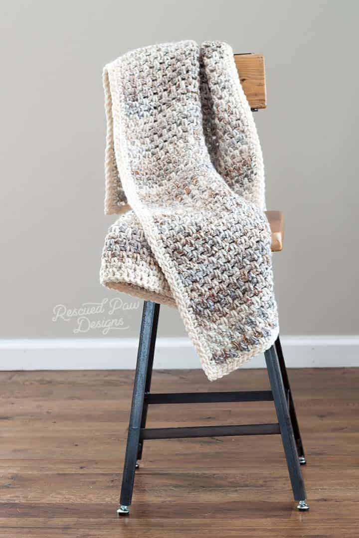 Crochet Throw Blanket Pattern