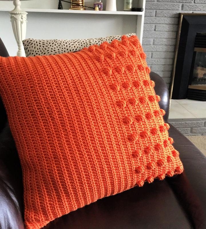 Crochet the Burst of Sunshine Pillow