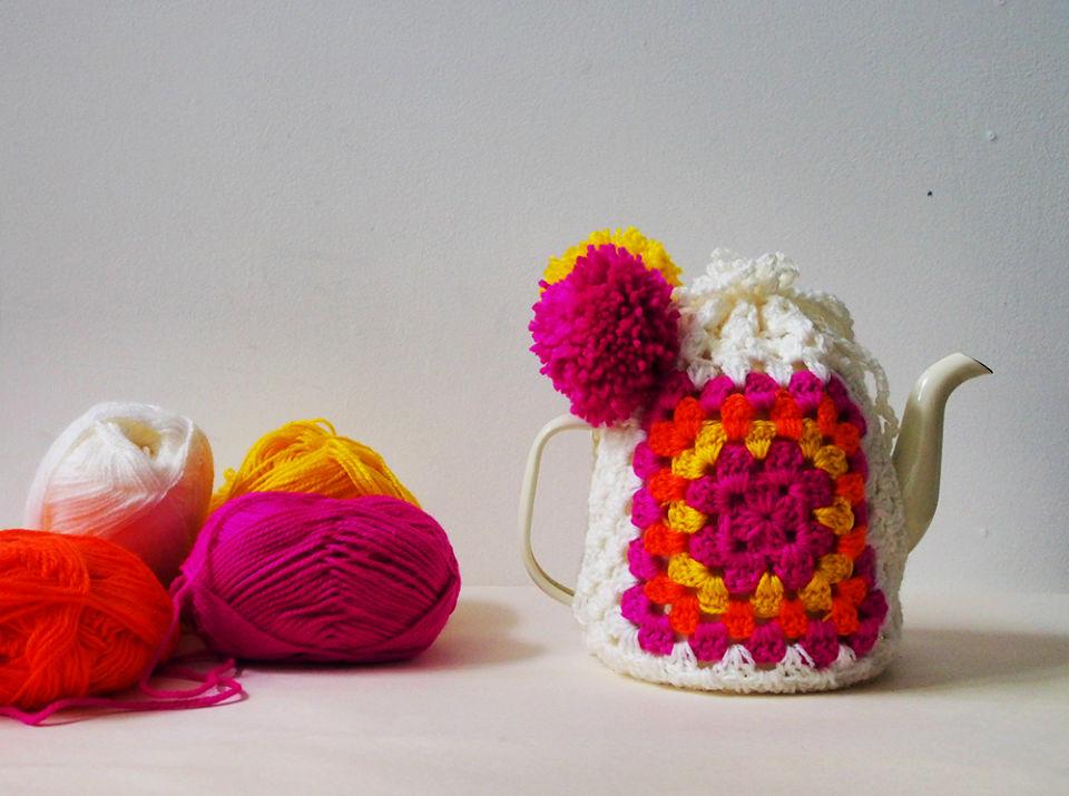 Crochet the Worlds Easiest Tea Cozy