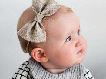 DIY Baby Bow Headband